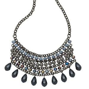 Gray & Black Necklace Stargaze NWT Premier Designs